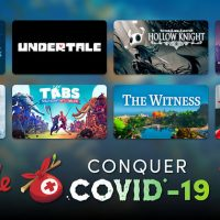 Humble Bundle:「Conquer COVID-19 Bundle」販売開始。ゲームと本が大量。「Undertale」「Hollow Knight」「Into The Breach」など